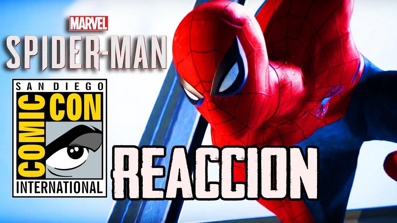 Video Reacción: Marvel´s Spider-Man - SDCC 2018 Trailer