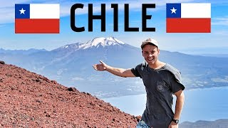 Climbing a HUGE VOLCANO in CHILE 🇨🇱🌋 (Travel Vlog)