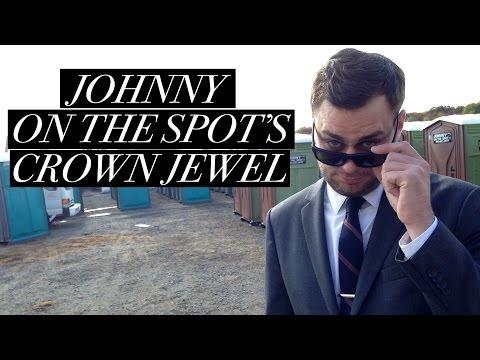 Golden Thrones: Best in Bathrooms Johnny On The Spot's Crown Jewel