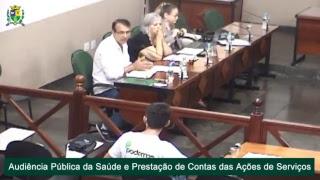 Audiência Pública - Prestação de contas da Secretaria de Saúde