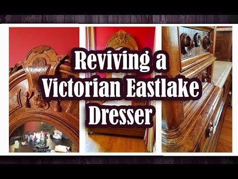 Reviving a Victorian Eastlake Dresser