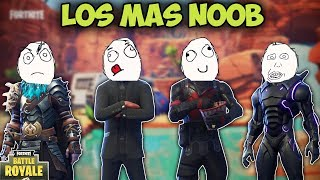 LOS MAS NOOB DE TODO FORTNITE! - MOMENTOS DIVERTIDOS (Funny Moments) | FORTNITE - PACO TORREAR