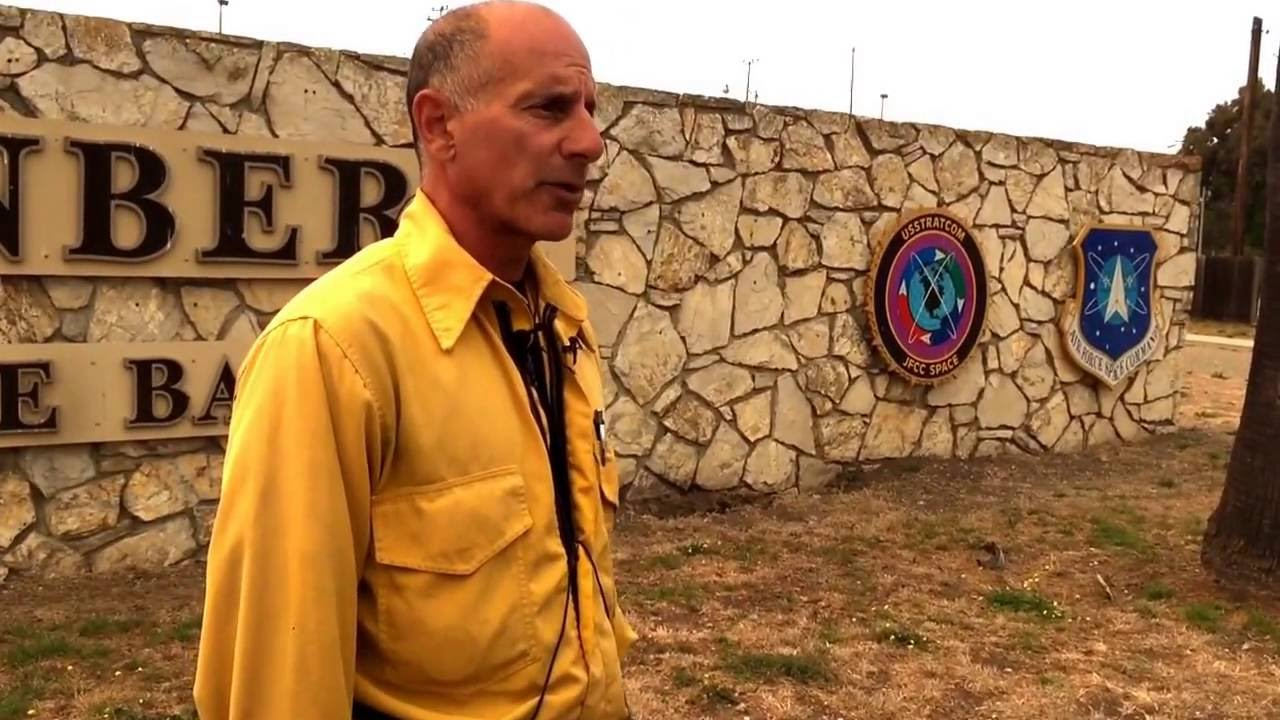Sb county fire capt dave zaniboni speaks about the canyon for Captain dave s fishing