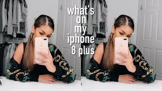 WHAT'S ON MY IPHONE 8 PLUS + iPhone Giveaway ♡ Koleen Diaz