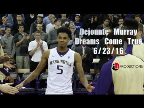 "Dejounte ""Baby Boy"" Murray NBA Draft16 Tribute - YouTube"