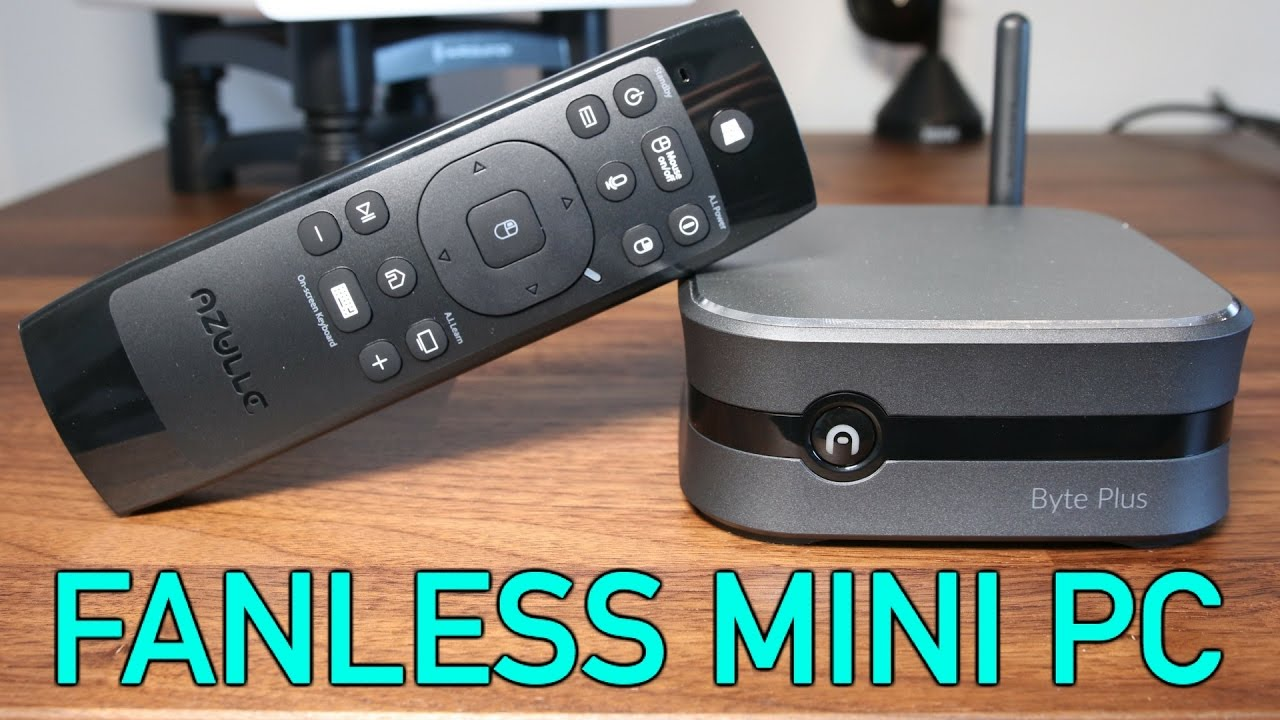 FANLESS MINI PC REVIEW: Azulle Byte Plus