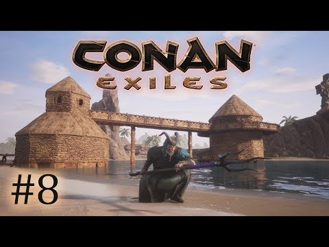 Conan Exiles - #8 Building a Hut in the Ocean