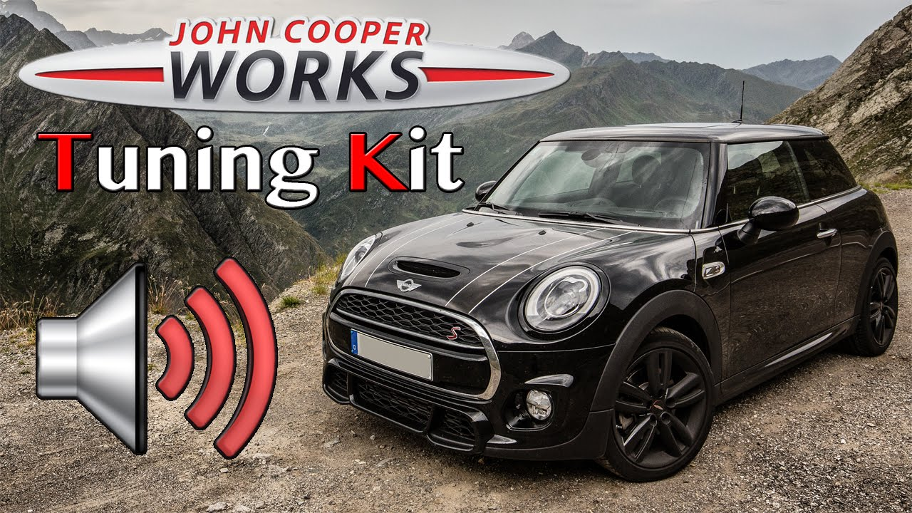 jcw tuning kit tunnel sounds extreme loud mini cooper s f56 youtube. Black Bedroom Furniture Sets. Home Design Ideas