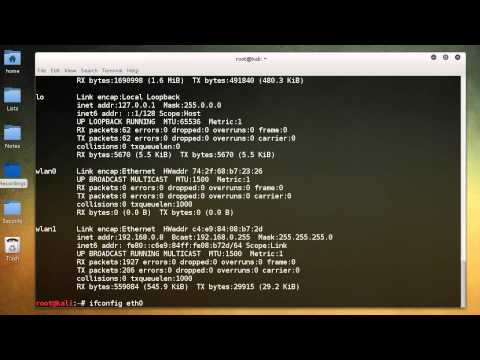 WiFi Wireless Security Tutorial - 2 - Linux Networking Commands