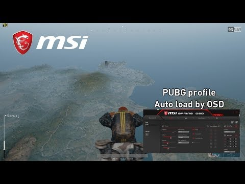 Optix MPG27CQ Curved Monitor Gaming OSD Tutorial for PUBG | Gaming Monitor | MSI