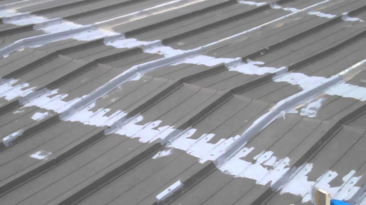 Gaco S20 Silicone Roof Coating Youtube