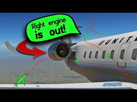 A DELTA A320 LOSES THE LEFT ENGINE ON FINAL APPROACH! - YouTube