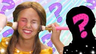 Silly Princess Blindfold Makeup Challenge! |  FunPop!