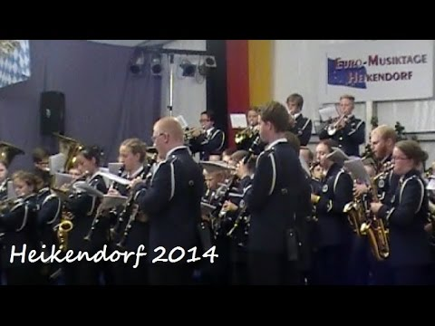 Trumpet Filigree - Mjölby Ungdomsmusikkår, Heikendorf 2014