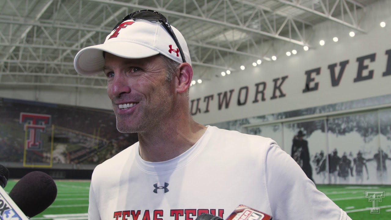 Texas Tech Football Fall Camp: Day One Media Availability | 8.2.2019