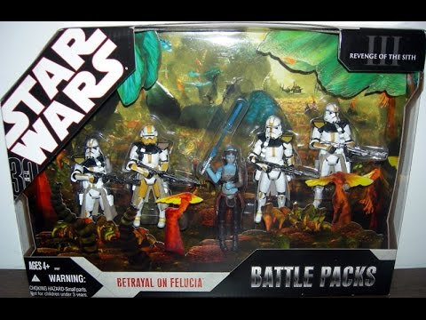 Betrayal On Felucia Battle 5 Pack Revenge Of The Sith Hd Review Youtube