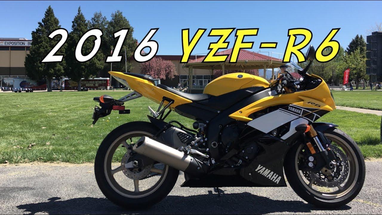 2016 Yamaha Yzf R6 Test Day