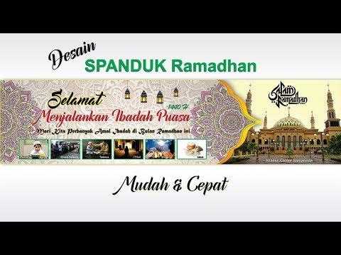 Desain Spanduk Ramadhan H Dengan Coreldraw Ramadhan Banner