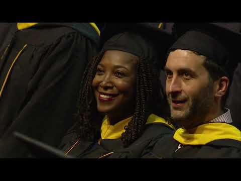 Johns Hopkins University Krieger School of Arts and Sciences Master's Degree Ceremony