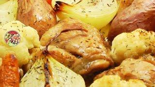 Куриные бёдра, запечённые в фольге. Просто, вкусно, недорого.