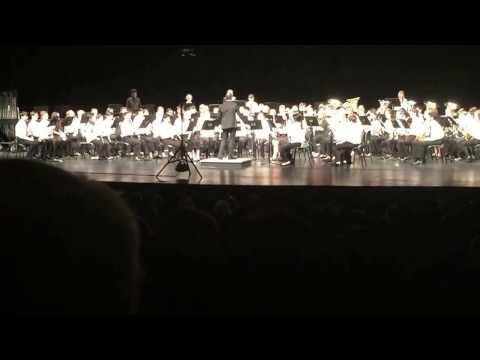 NC Central District Symphonic Band Performance 2017