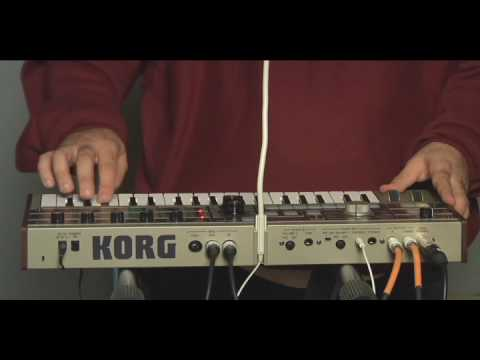 chromeo with KORG microKORG