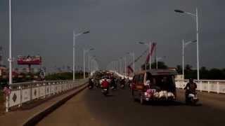 Traffics At Chroy Changva Bridge (new Bridge 25 Sep 2014)