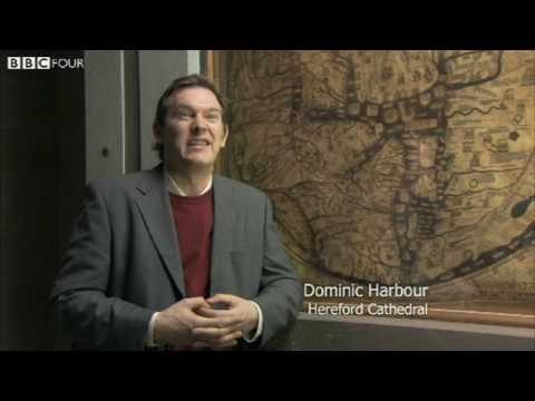 The Hereford Mappa Mundi c.1300 - The Beauty of Maps - Episode 1 - BBC  Four