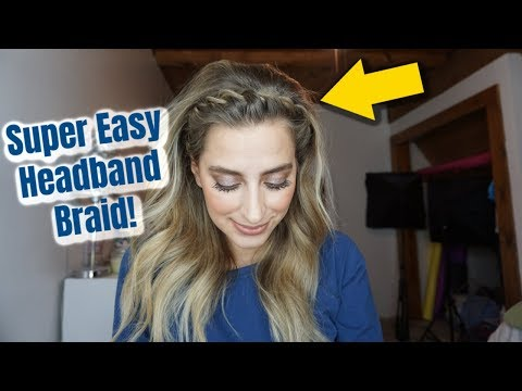 How To: Twisted Headband Braid For Short, Medium, Or Long Hair