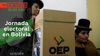 Jornada Electoral En Bolivia - Noticiero Rt 20102019