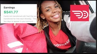 How I Made $541 IN 13 DOORDASH TRIPS+ Tips For Success!