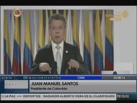 Gobierno colombiano y Farc llegan a histórico acuerdo de paz
