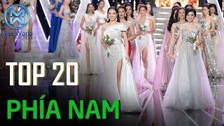 20 thí sinh khu vực phía Nam vào Chung kết Miss World Việt Nam 2019