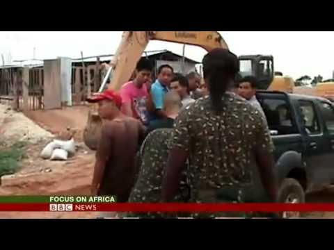 illegal gold mining in Ghana