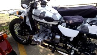 URAL motorcycle in USA/Мотоцикл ИМЗ Урал в америке