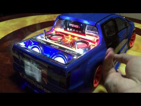 รถบังคับติดเครื่องเสียง Rc Drift 1/10 by neung