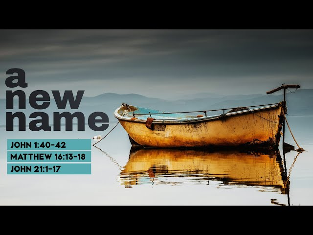 A New Name Part 2 with Pastor Brian Clark