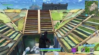 NEW PORT A FORT IN USE - Fortnite battle royale