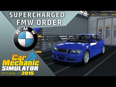 BMW REPAIR WORK | Car Mechanic Simulator 2015 |