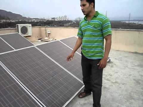 Solar Wind Hybrid System Installation by WISH Energy System