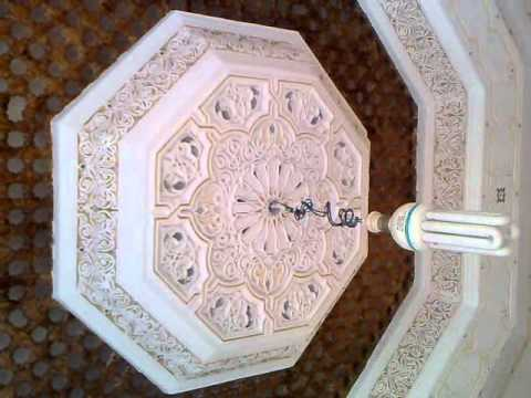 platre traditionel marocain avec jamal al horda youtube. Black Bedroom Furniture Sets. Home Design Ideas