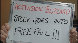 ACTIVISION BLIZZARD Stock Goes into FREE FALL Following EARNINGS CALL !!