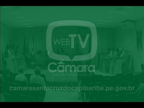 Assista a reunião desta quinta-feira (19) na Câmara de Vereadores de Santa Cruz do Capibaribe