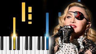 Madonna, Quavo - Future (Eurovision Song Contest 2019) - Piano Tutorial / Piano Cover