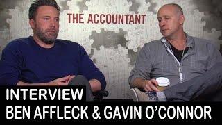 The Accountant Movie: Ben Affleck, Gavin O'Connor - Interview