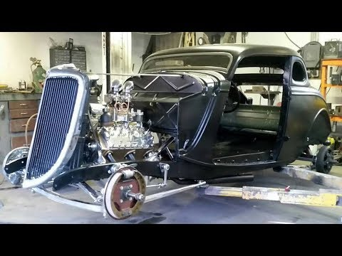 1934 Ford Custom Coupe Hot Rod Build Project