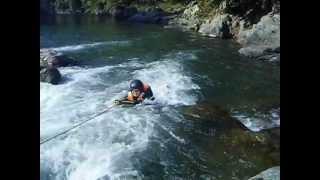 立神峡 カヌー体験 九州熊本県八代郡氷川町