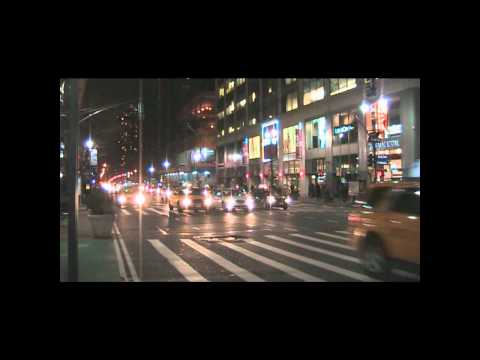Taxi - Yellow Cabs in NYC at night