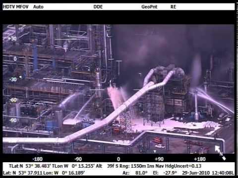 Major fire at North Lincolnshire Oil Refinery