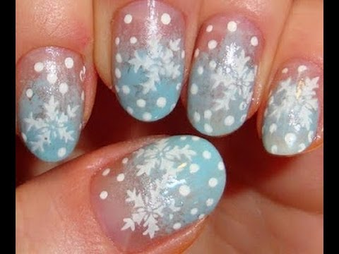 Christmas nail art ideas 2013 cute winter nails youtube prinsesfo Image collections